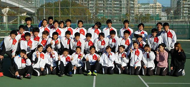 甲南大学硬式庭球部2017年